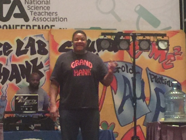 GRAND HANK AT NSTA AREA CONFERENCE PHILLY 2015